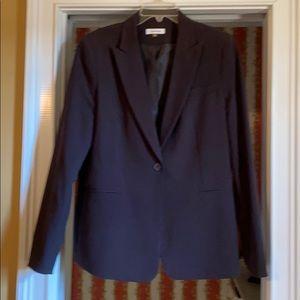 Calvin Klein dark brown blazer